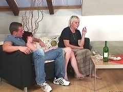 She needs dick and only her son in law can provide the sex she really wants