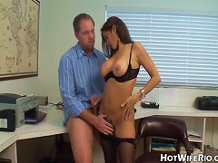 Office Milf Well, of course you did- and I had a nice big dick waiting for me to stroke and suck on just for you!